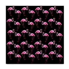 Flamingo Pattern Tile Coasters