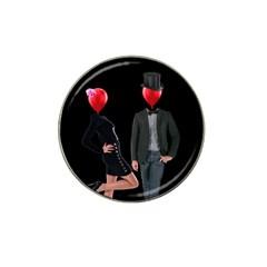 Love Hat Clip Ball Marker by Valentinaart