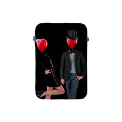 Love Apple Ipad Mini Protective Soft Cases by Valentinaart