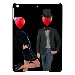Love Ipad Air Hardshell Cases by Valentinaart