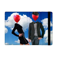 Love Apple Ipad Mini Flip Case by Valentinaart