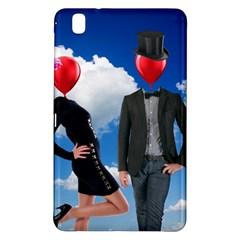 Love Samsung Galaxy Tab Pro 8 4 Hardshell Case by Valentinaart