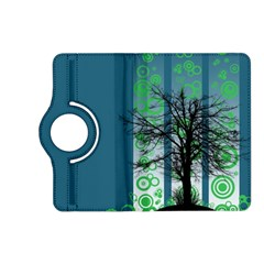Tree Circles Lines  Kindle Fire Hd (2013) Flip 360 Case by amphoto
