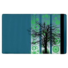 Tree Circles Lines  Apple Ipad Pro 9 7   Flip Case by amphoto