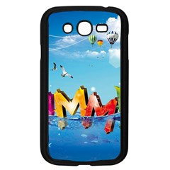 Summer Sea Clouds  Samsung Galaxy Grand Duos I9082 Case (black) by amphoto