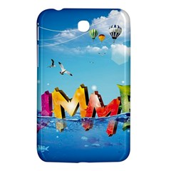 Summer Sea Clouds  Samsung Galaxy Tab 3 (7 ) P3200 Hardshell Case  by amphoto