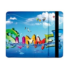 Summer Sea Clouds  Samsung Galaxy Tab Pro 8 4  Flip Case by amphoto