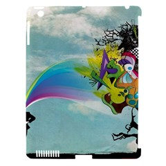 Man Crazy Surreal  Apple Ipad 3/4 Hardshell Case (compatible With Smart Cover) by amphoto