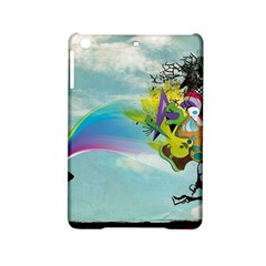 Man Crazy Surreal  Ipad Mini 2 Hardshell Cases by amphoto