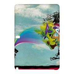 Man Crazy Surreal  Samsung Galaxy Tab Pro 10 1 Hardshell Case by amphoto