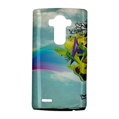 Man Crazy Surreal  Lg G4 Hardshell Case by amphoto