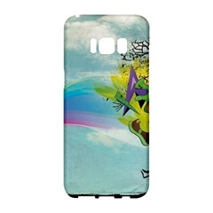Man Crazy Surreal  Samsung Galaxy S8 Hardshell Case  by amphoto