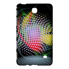Colorful Lines Dots  Samsung Galaxy Tab 4 (7 ) Hardshell Case  by amphoto