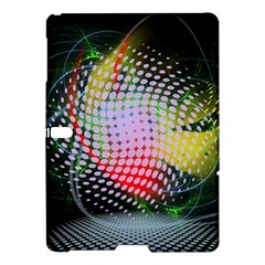 Colorful Lines Dots  Samsung Galaxy Tab S (10 5 ) Hardshell Case