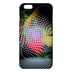 Colorful Lines Dots  Iphone 6 Plus/6s Plus Tpu Case by amphoto