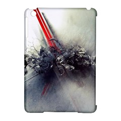 Blast Paint Shadow  Apple Ipad Mini Hardshell Case (compatible With Smart Cover) by amphoto