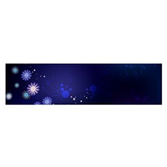 Flowers Stars Dots  Satin Scarf (oblong) by amphoto