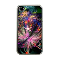 Patterns Lines Bright  Apple Iphone 4 Case (clear) by amphoto
