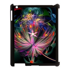 Patterns Lines Bright  Apple Ipad 3/4 Case (black) by amphoto
