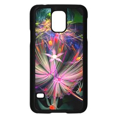 Patterns Lines Bright  Samsung Galaxy S5 Case (black) by amphoto