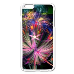 Patterns Lines Bright  Apple Iphone 6 Plus/6s Plus Enamel White Case by amphoto