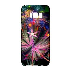 Patterns Lines Bright  Samsung Galaxy S8 Hardshell Case  by amphoto