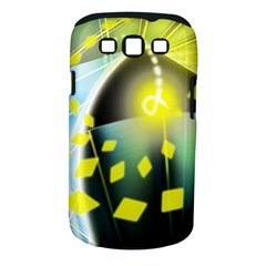 Line Light Form  Samsung Galaxy S Iii Classic Hardshell Case (pc+silicone) by amphoto