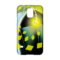 Line Light Form  Samsung Galaxy S5 Hardshell Case  by amphoto