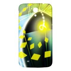 Line Light Form  Samsung Galaxy Mega I9200 Hardshell Back Case by amphoto