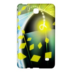 Line Light Form  Samsung Galaxy Tab 4 (8 ) Hardshell Case  by amphoto