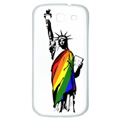 Pride Statue Of Liberty  Samsung Galaxy S3 S Iii Classic Hardshell Back Case by Valentinaart