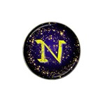 0Alphabet-N Hat Clip Ball Marker