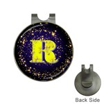 0Alphabet-R Golf Ball Marker Hat Clip