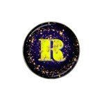 0Alphabet-R Hat Clip Ball Marker