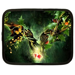 Leaves Explosion Line  Netbook Case (xxl)  by amphoto