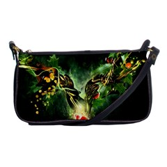 Leaves Explosion Line  Shoulder Clutch Bags by amphoto