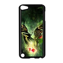 Leaves Explosion Line  Apple Ipod Touch 5 Case (black) by amphoto