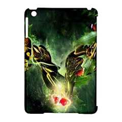 Leaves Explosion Line  Apple Ipad Mini Hardshell Case (compatible With Smart Cover) by amphoto