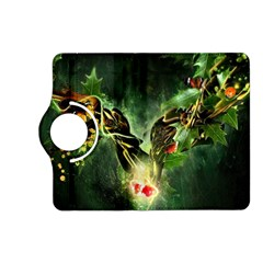 Leaves Explosion Line  Kindle Fire Hd (2013) Flip 360 Case by amphoto