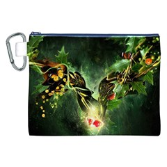 Leaves Explosion Line  Canvas Cosmetic Bag (xxl) by amphoto
