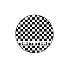 Chess  Hat Clip Ball Marker (4 Pack) by Valentinaart