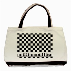 Chess  Basic Tote Bag by Valentinaart