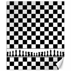 Chess  Canvas 8  X 10  by Valentinaart