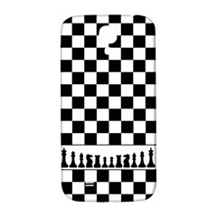 Chess  Samsung Galaxy S4 I9500/i9505  Hardshell Back Case by Valentinaart