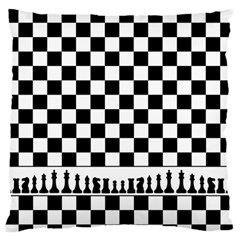 Chess  Large Flano Cushion Case (two Sides) by Valentinaart