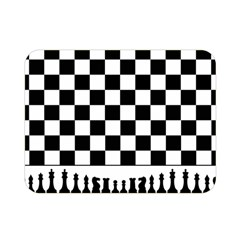 Chess  Double Sided Flano Blanket (mini)  by Valentinaart
