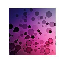 Circles Surface Light  Small Satin Scarf (square) by amphoto