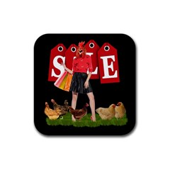 Sale Rubber Coaster (square)  by Valentinaart