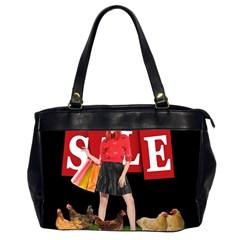Sale Office Handbags (2 Sides)  by Valentinaart