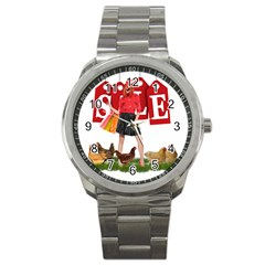 Sale Sport Metal Watch by Valentinaart